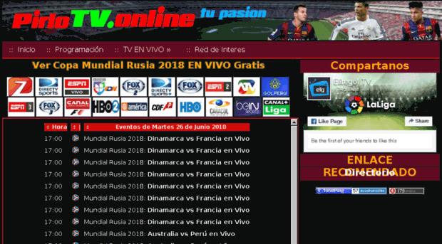 funcionamiento Pirlo TV, calendario Pirlo TV