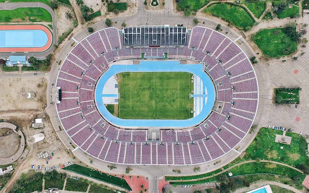 Estadio Roja Directa, Fútbol Roja Directa