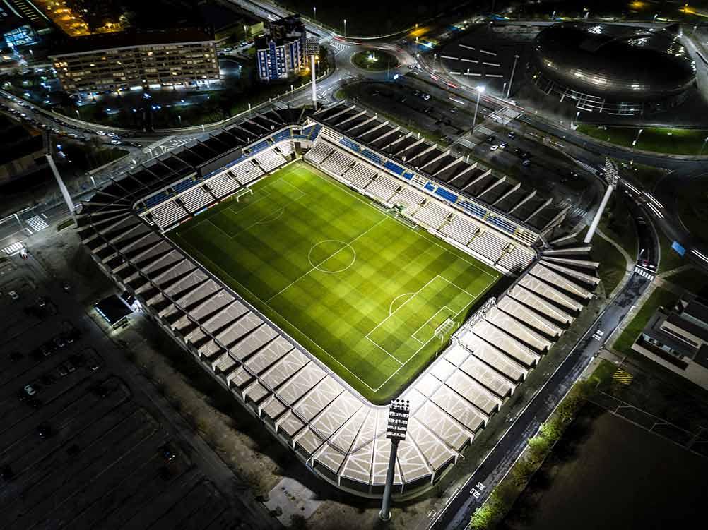 Estadio fútbol Pirlo TV