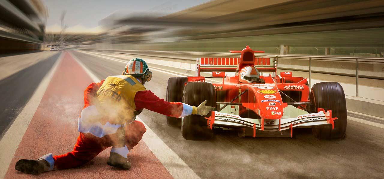 Fórmula 1 Ferrari, Fórmula 1 coche, Fórmula 1 pit stop